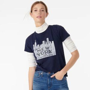 J.CREW New York Tours Statement Tee
